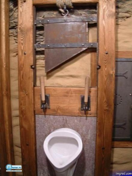 Toaleta periculoasa